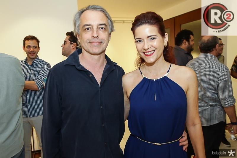 Eduardo Alencar e Ticiana Ponte