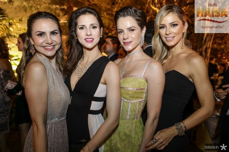 Adriana Queiroz, Carla Oliveira, Paulinha Rocha e Bruna Waleska
