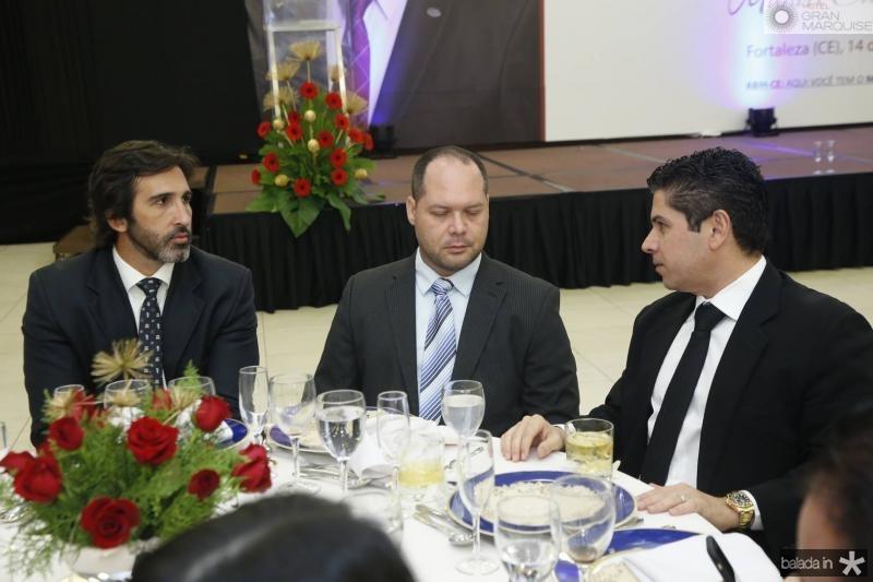Lucas Fiuza, Heitor Freire e Pompeu Vasconcelos