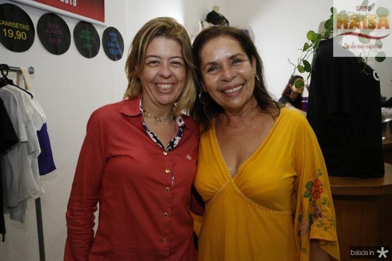 Kelly Malheiros e Dora Andrade