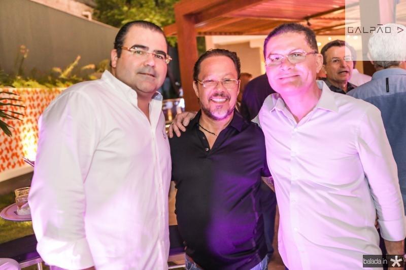 Luciano Cavalcante, Hugo Benevides e Marcos Borges