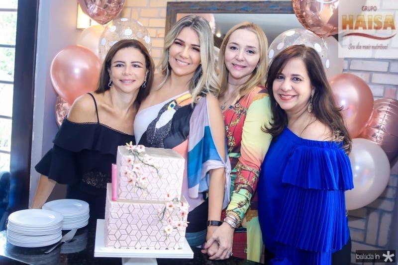 Claudia Fujita, Jeritza Gurgel, Sandra Fujita e Martinha Assunçao