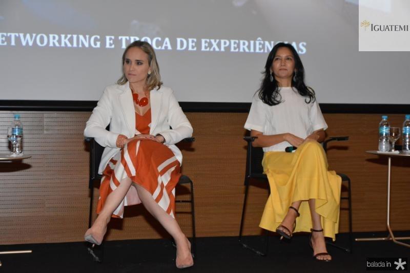 Fernanda Pacobahyba e Aurineide Lemos