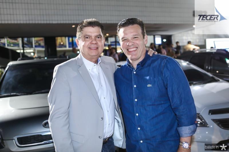 Mauro Filho e Ferruccio Feitosa