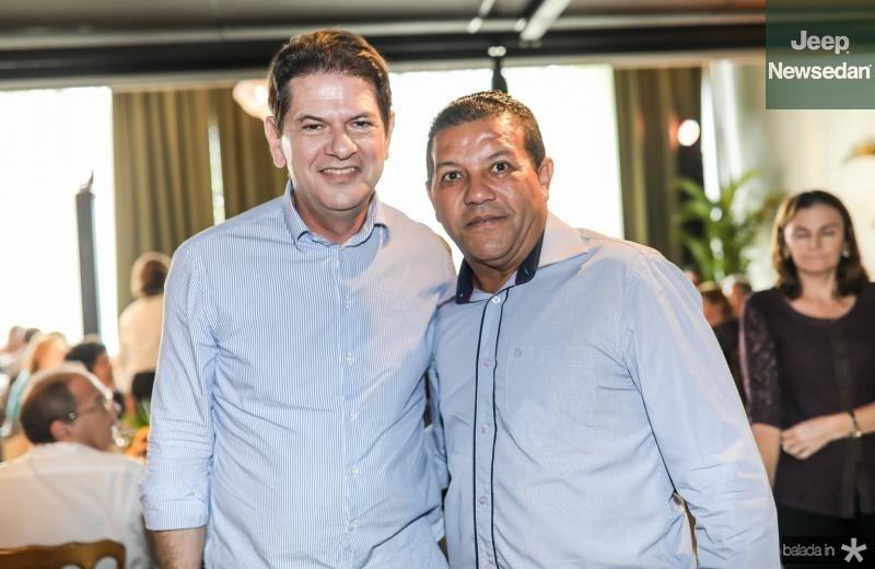 Cid Gomes e Raimundo Santos