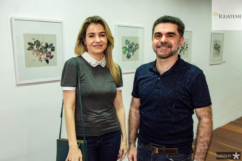 Luciana Medeiros e Isaac Furtado