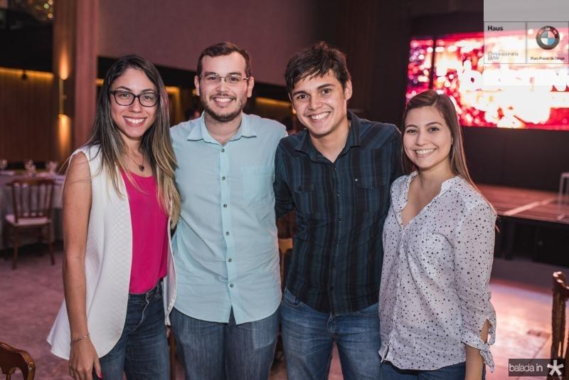 Lorena Andrade, Luiz Ricardo, Davi Eder e Uana Machado