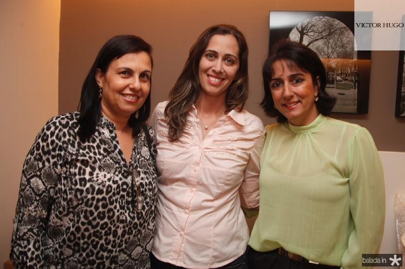 Marcia Albuquerque,Luciana Granjeiro e Karine Maia