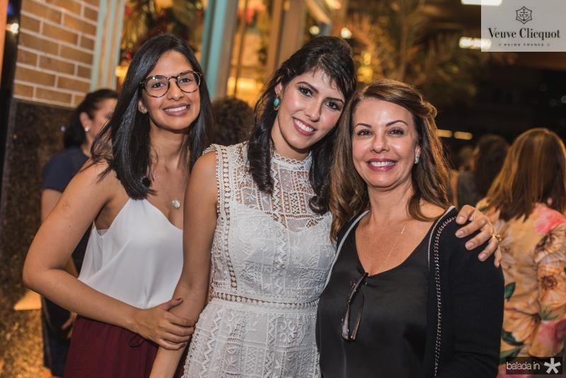 Tatiana Mendes, Flavia Laprovitera e Edileda Mendes