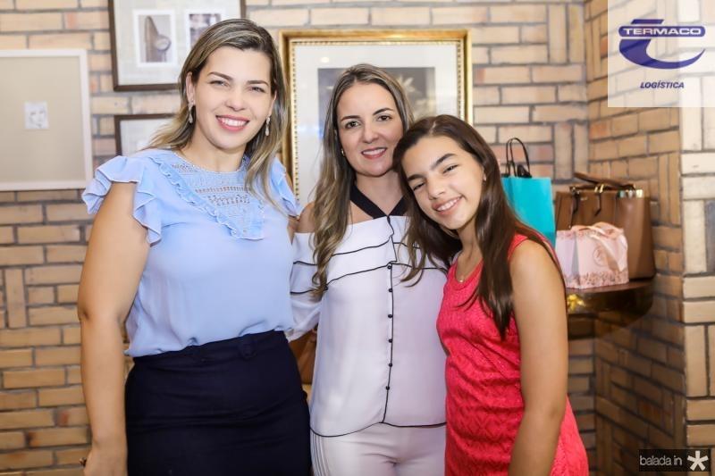 Jamile Holanda, Raquel Vasconcelos e Isabelle Holanda