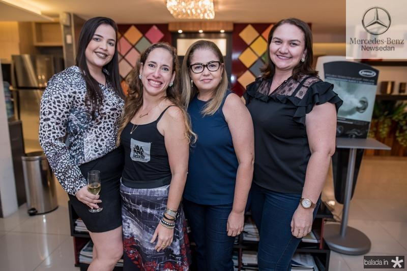 Viviane Sabino, Joanne Ximenes, Heloisa Pontes e Tatiana Duarte