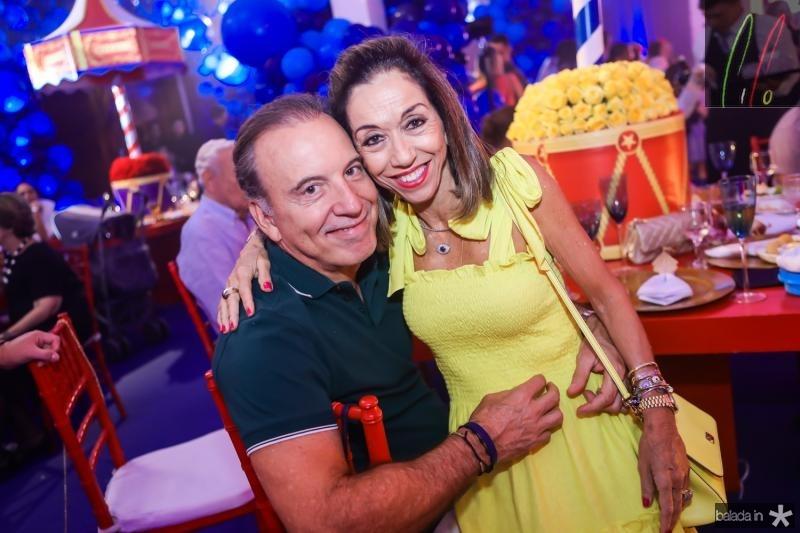 Binho Bezerra e Marcia Tavora