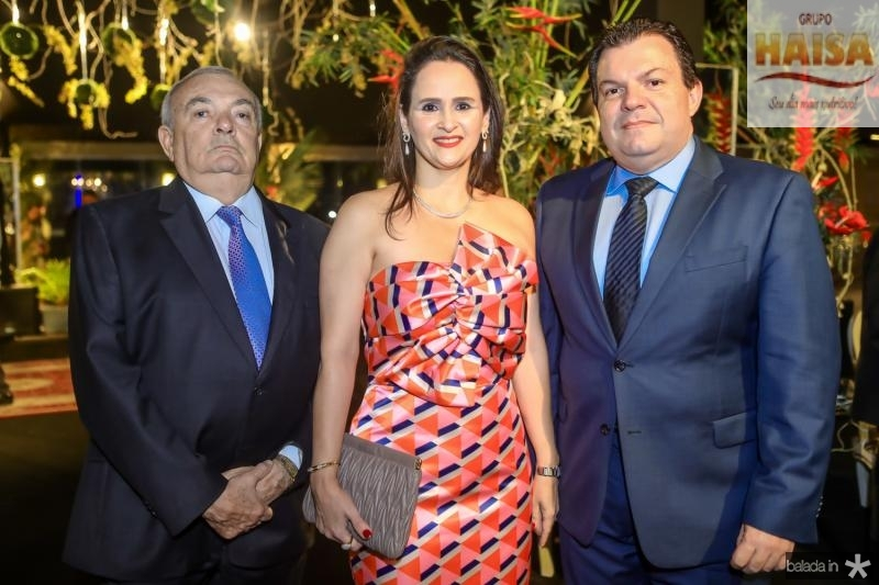 Julio Santiago, Adriana Miranda e Fernando Ferrer