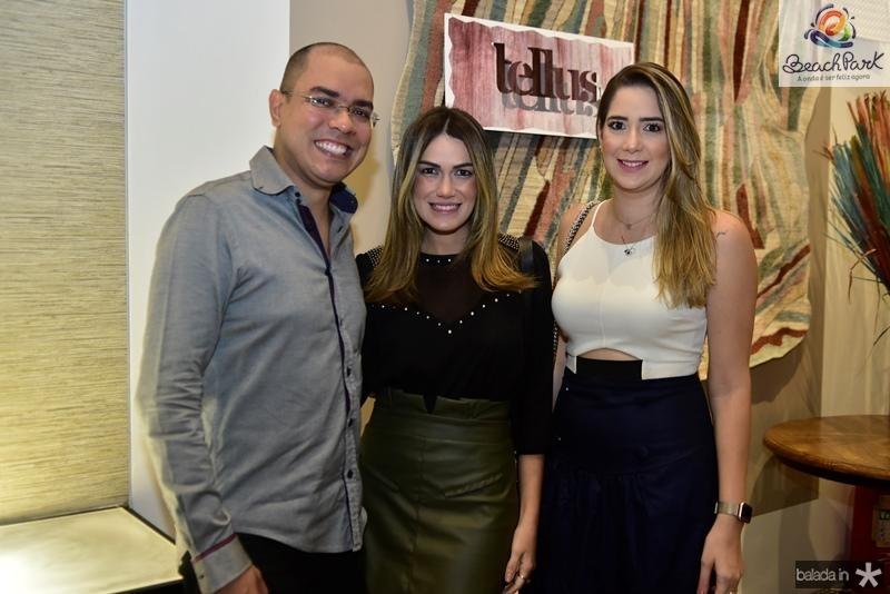 Josafa Neto, Juliana Hissa e Zaira Mendes