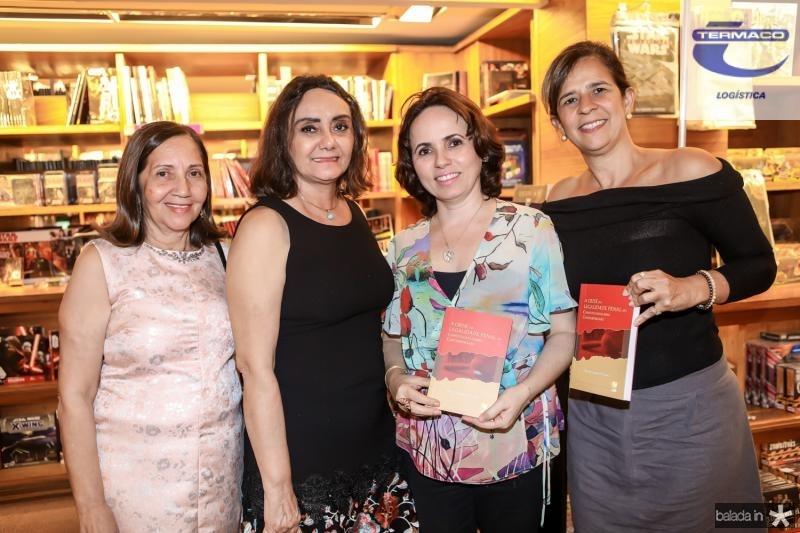Maria Queiroz, Escolastica Oliveira, Alodia Pessoa e Roseane Holanda