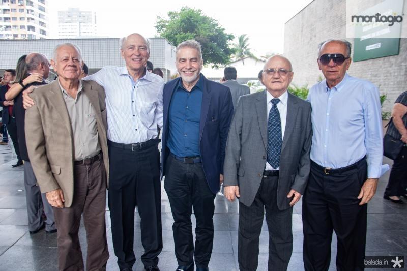 Flavio Saboya, Ricardo Libman, Eugenio Pontes, Aluisio Ramalho e Joao Guimaraes