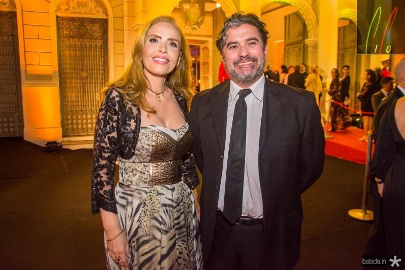 Eugenia Carneiro e Jorge Pinheiro