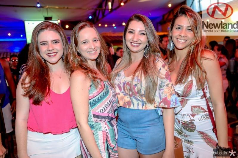 Camila Gadelha, Lessiane Lobo, Camila Lourenço e Jessica Carvalho