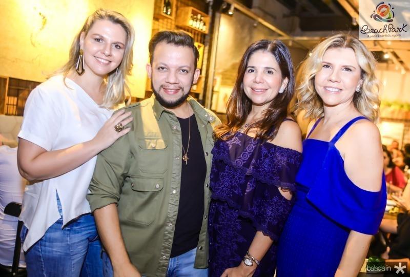Alexia Fontes, Roberto Alves, Maria Lucia Negrao e Georgea Fontes