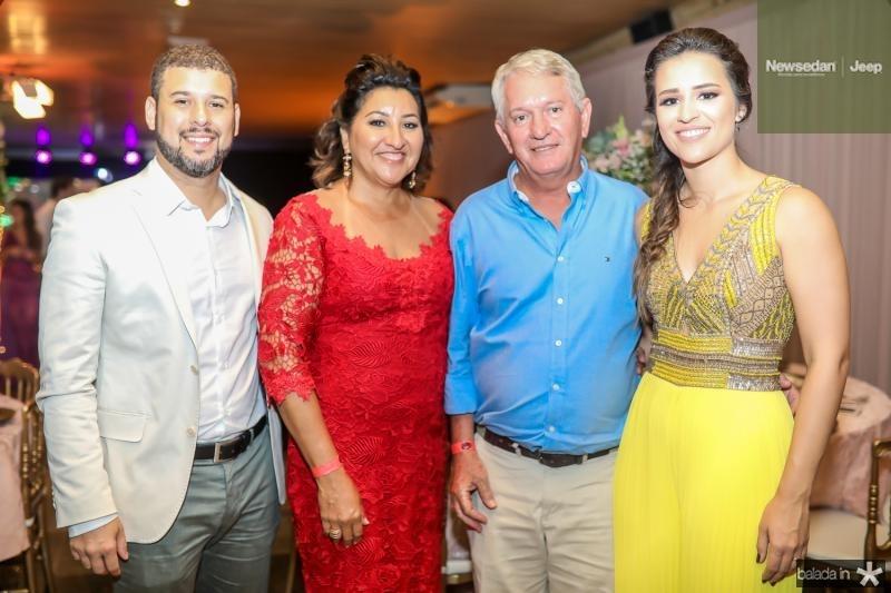 Vitor Perin, Beth e Alberto Hessel, Marina Perin