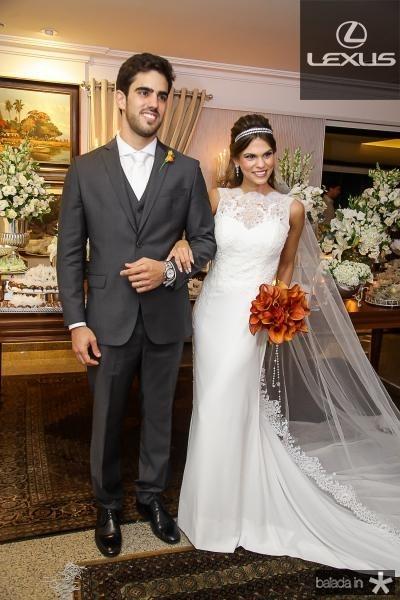Lucas Ximenes e Mariana Pinto