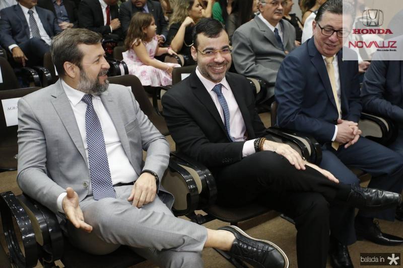Elcio Batista, Bona Carvalho e Flavio Juca