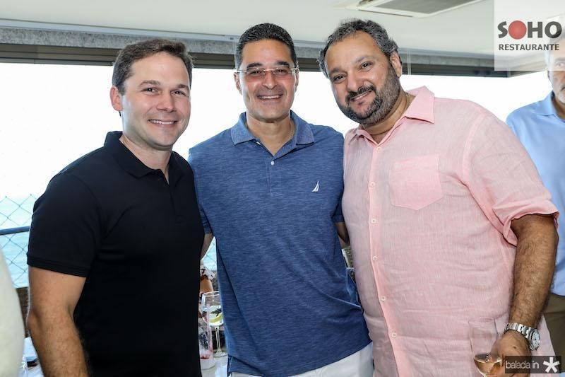 Fábio Albuquerque, Daniel Arruda e Patriolino Dias