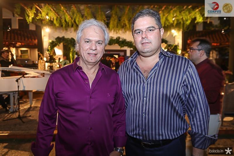 Ricardo Rolim e Edson Queiroz Neto