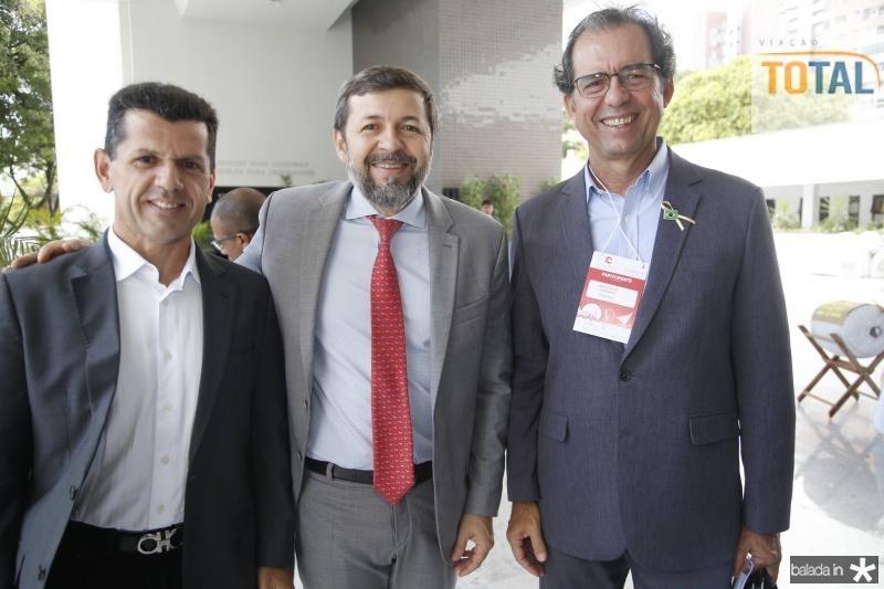 Erick Vasconcelos, Elcio Batista e Aristarco Sobreira
