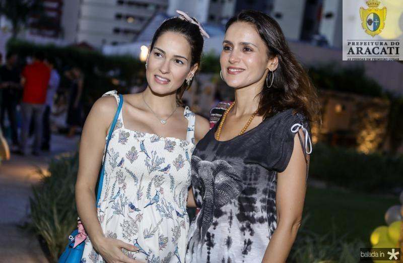 Marilia Queiroz e Manoela Bacelar