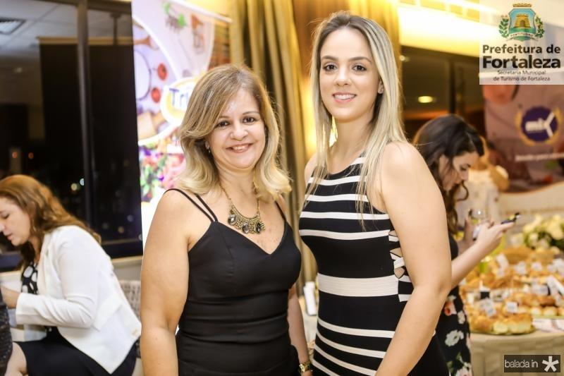 Cinara Nogueira e Talita Pedreira