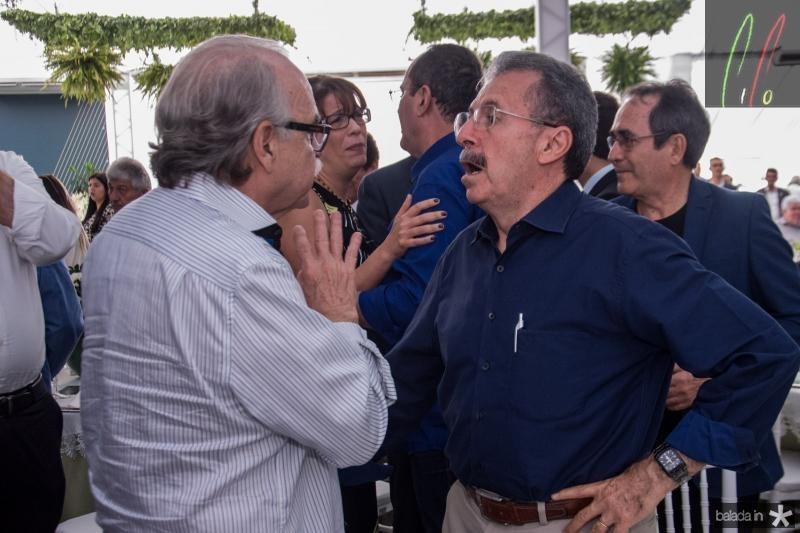 Ednilton Soares e Egidio Serpa