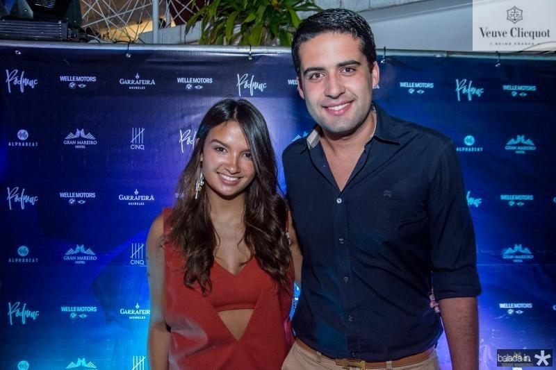 Mariana Araripe e Victor Oliveira