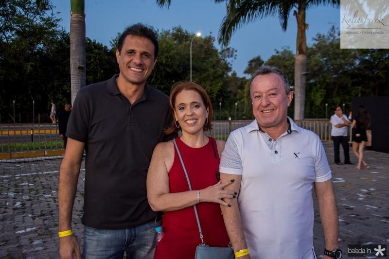 Welington Oliveira, Rachel Mendonca e Luis Carlos