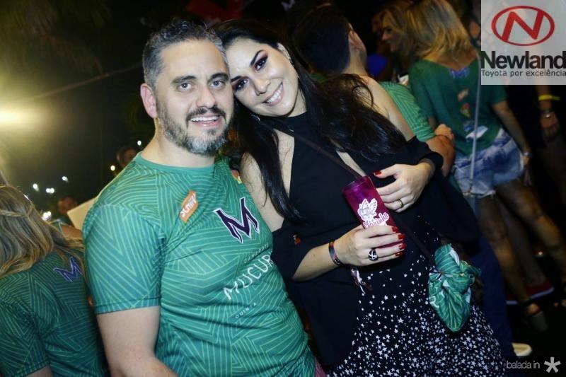 Fernando e Bruna Santos