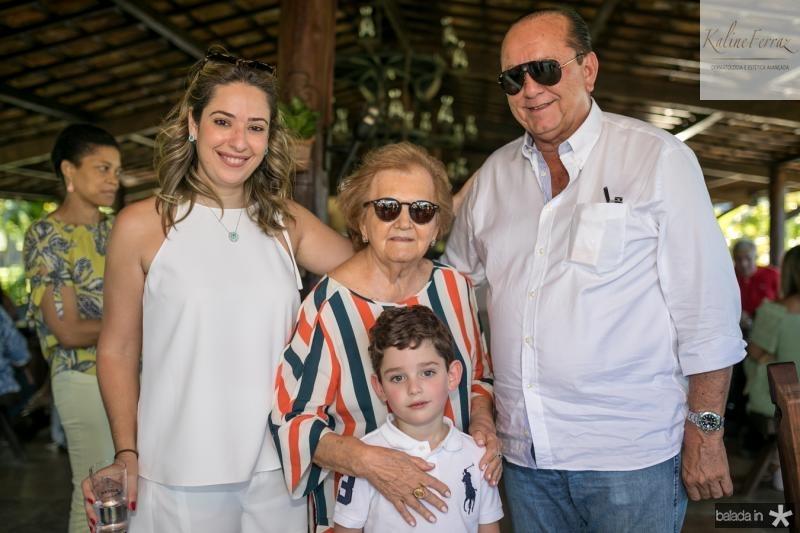 SilvinhaLeal, Doniha Feitosa, Sylvinho e Rafael Leal