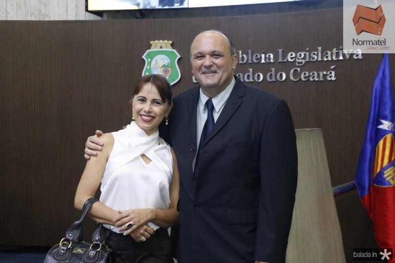 Andrea Lopes e Glauber Babe