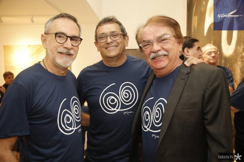 Ricardo Rodrigues, Jose Guedes e Padua Araujo