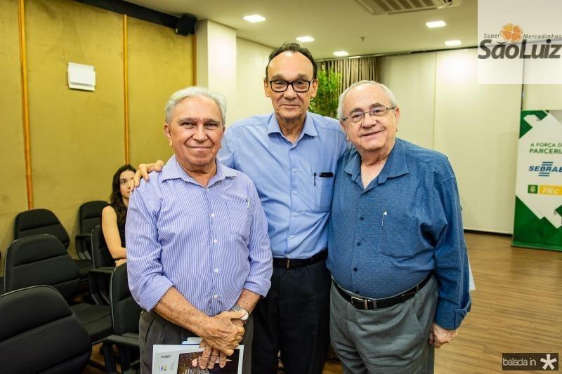 Francisco Pessoa, Fernando Ibiapina e Eduardo Bezerra