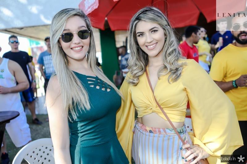 Monalisa Moreira e Daniele Nobre