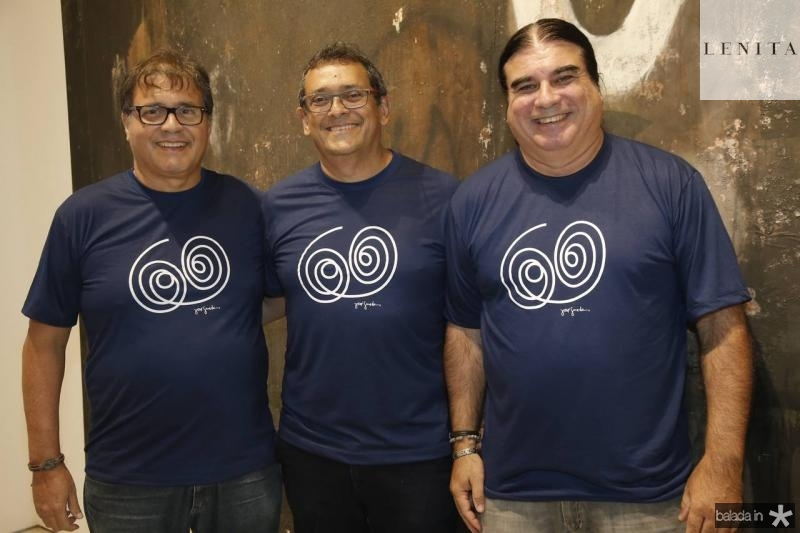 Afranio Pinto, Jose Guedes e Fernando Pessoa