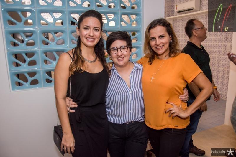 Lina Cidrao, Azuhli e Patricia Teofilo