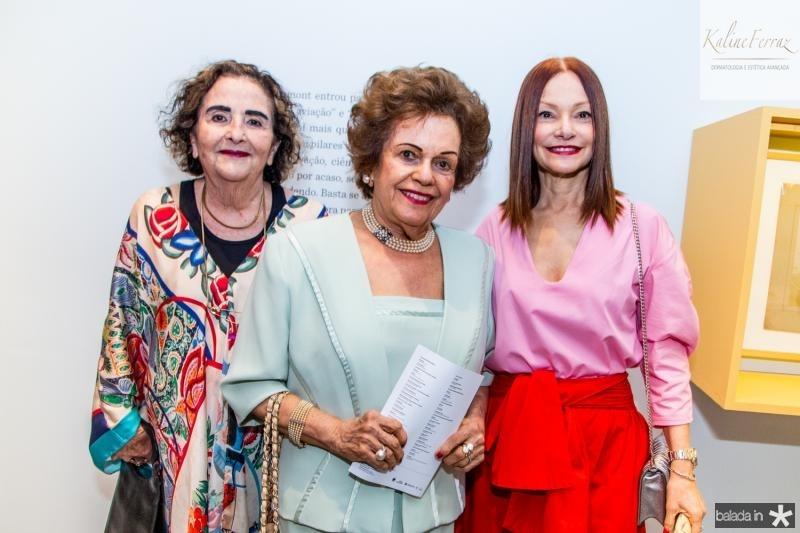 Glaucia Mota, Costança Távora e Carlota Fiuza