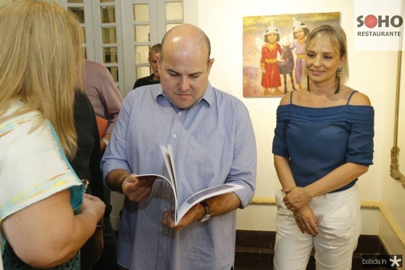 Norma Paula, Roberto Claudio e Paola Braga