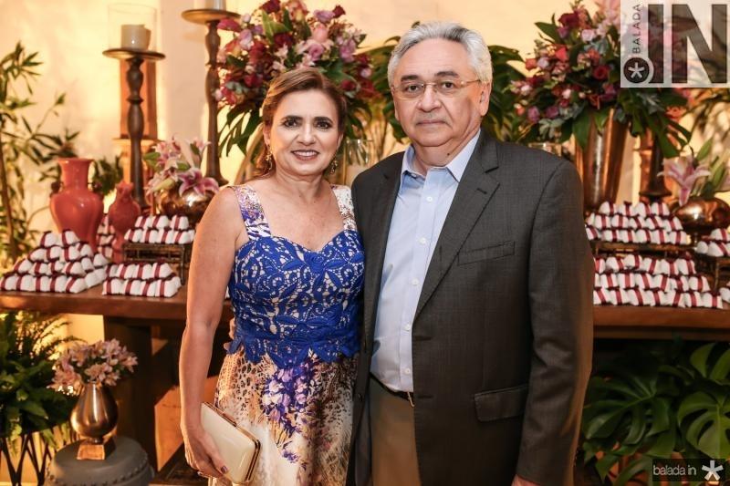 Ana Lucia e Paulo Albuquerque