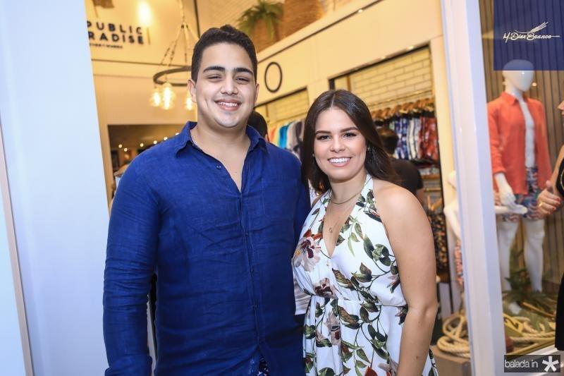 Rafael Pinto e Leticia Studart