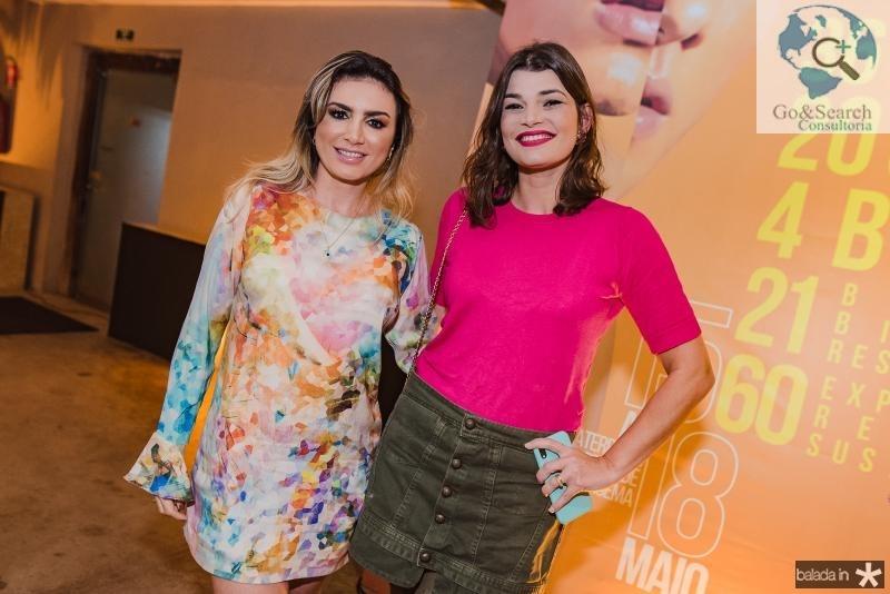 Jaque Maia e Livia Saboya