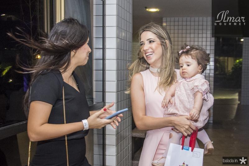Nathalia Braga, Liana Sa e Sara Sa