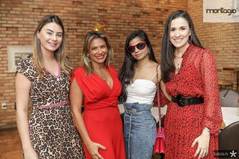 Mariana Pimenta, Vanessa Queiros, Isabela Temoteo e Giuliana Botelho