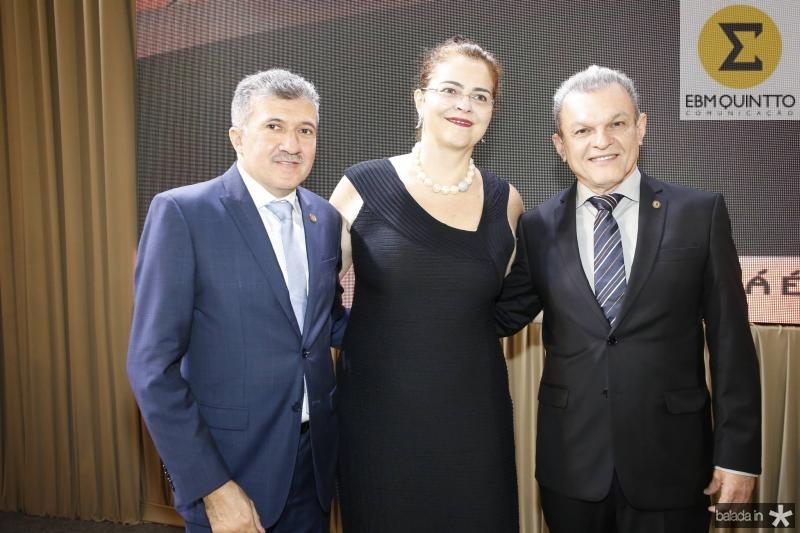 Antonio Henrique, Luciana Dummar e Jose Sarto